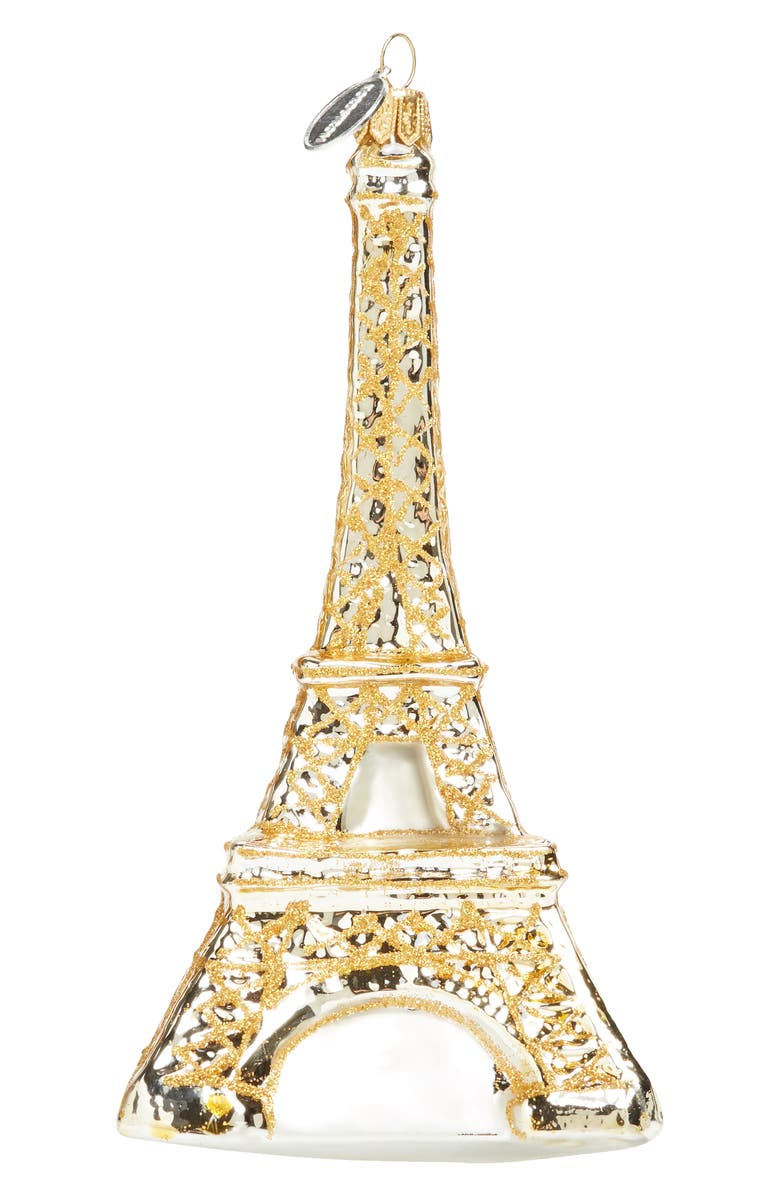 NORDSTROM at Home Eiffel Tower Ornament, Main, color, Gold