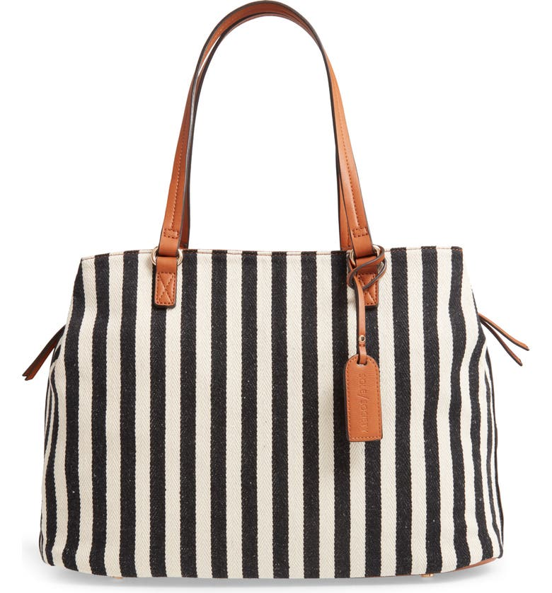 SOLE SOCIETY 'Oversize Millie' Tote, Main, color, 002