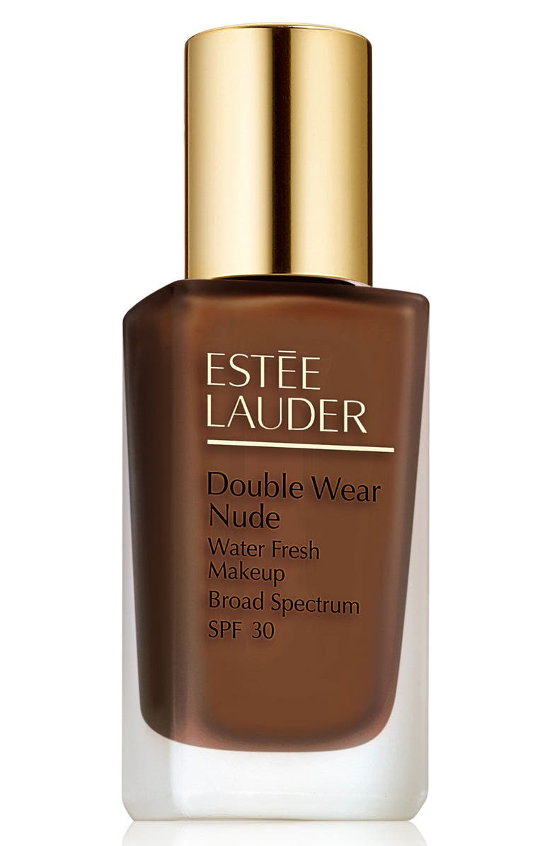 ESTÉE LAUDER Double Wear Nude Water Fresh Makeup Foundation Broad Spectrum SPF 30, Main, color, 7N1 DEEP AMBER