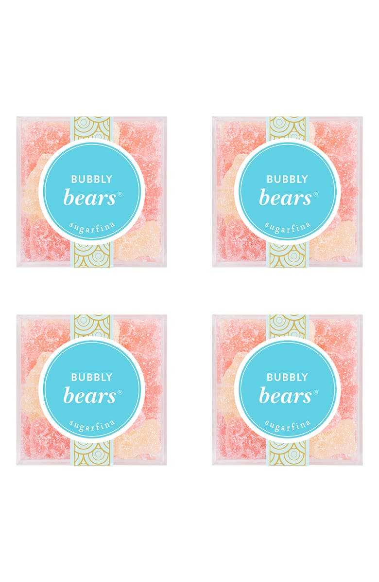 SUGARFINA Bubbly Bears<sup>®</sup> Set of 4 Candy Cubes, Main, color, 400