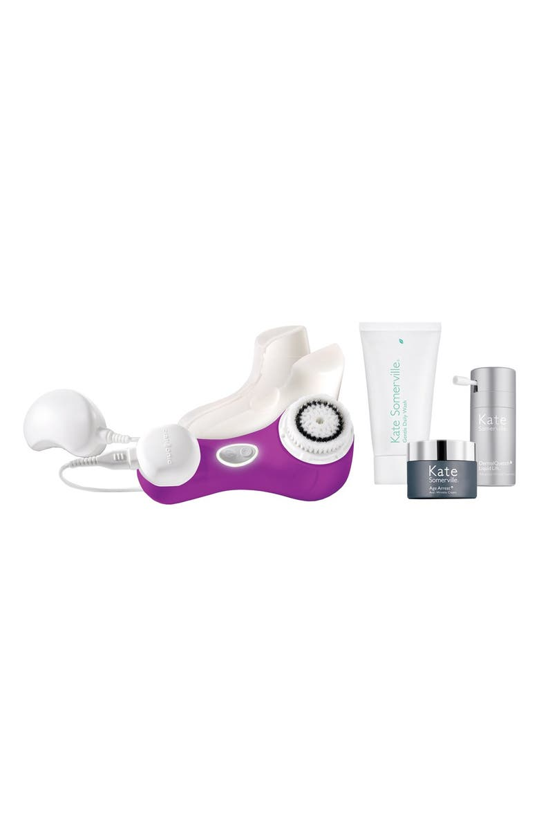 CLARISONIC & Kate Somerville<sup>®</sup> 'Mia 2' Cleansing System Set, Main, color, 000