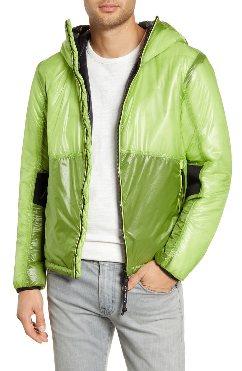 C.P. COMPANY Outline Weatherproof Hooded Goggle Jacket, Main, color, 320