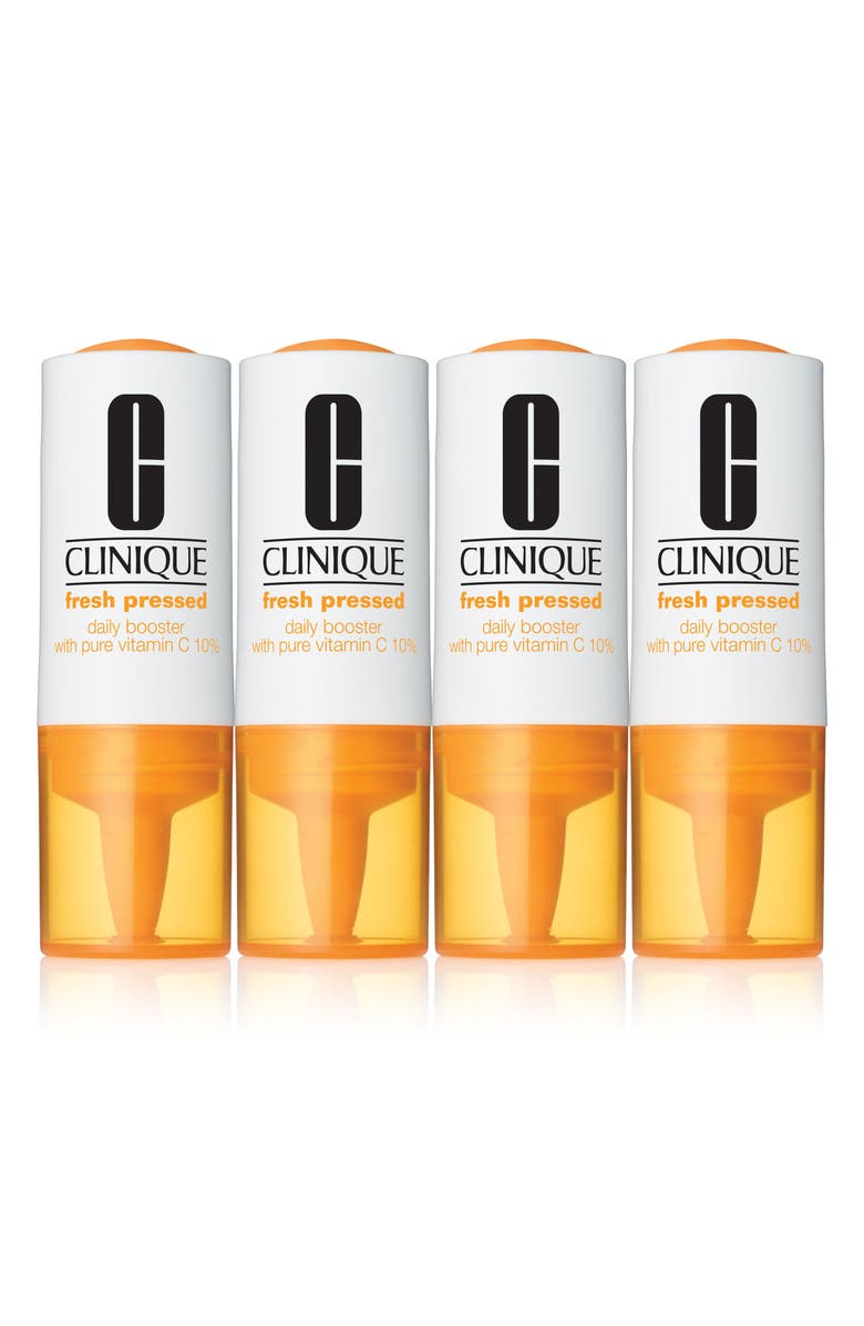 CLINIQUE Fresh Pressed Daily Booster with Pure Vitamin C 10% Serum, Main, color, No Color