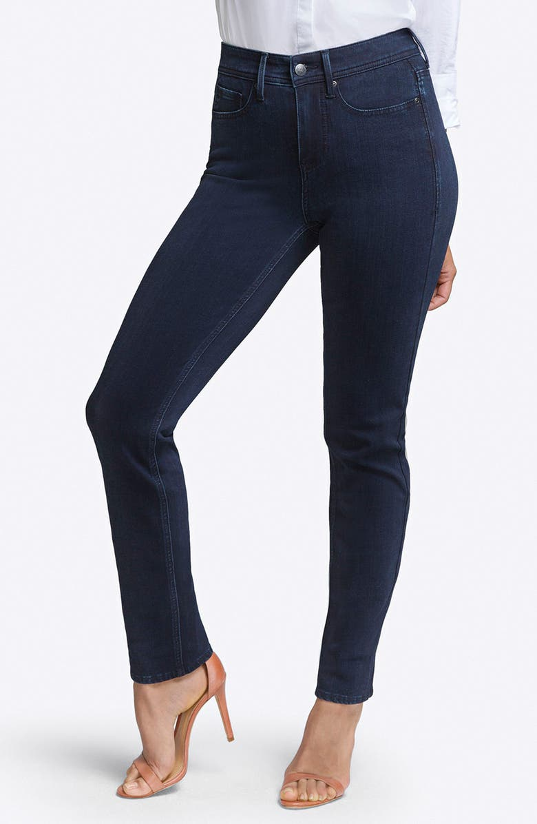 CURVES 360 BY NYDJ Slim Straight Leg Jeans, Main, color, 401
