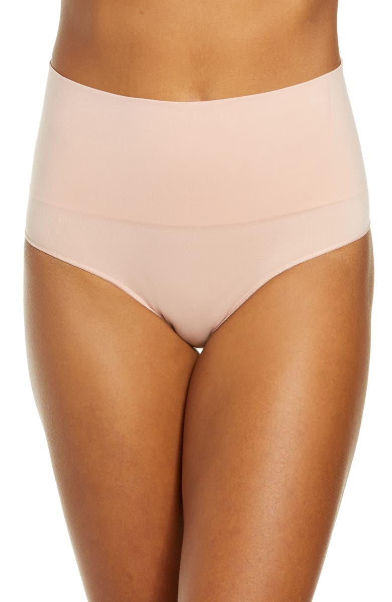 SPANX<SUP>®</SUP> Everyday Shaping Panties Briefs, Main, color, VINTAGE ROSE