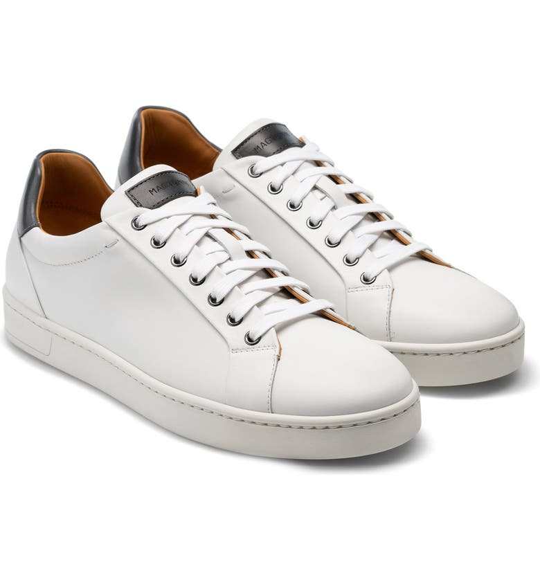 MAGNANNI Elonso Sneaker, Main, color, WHITE / GREY