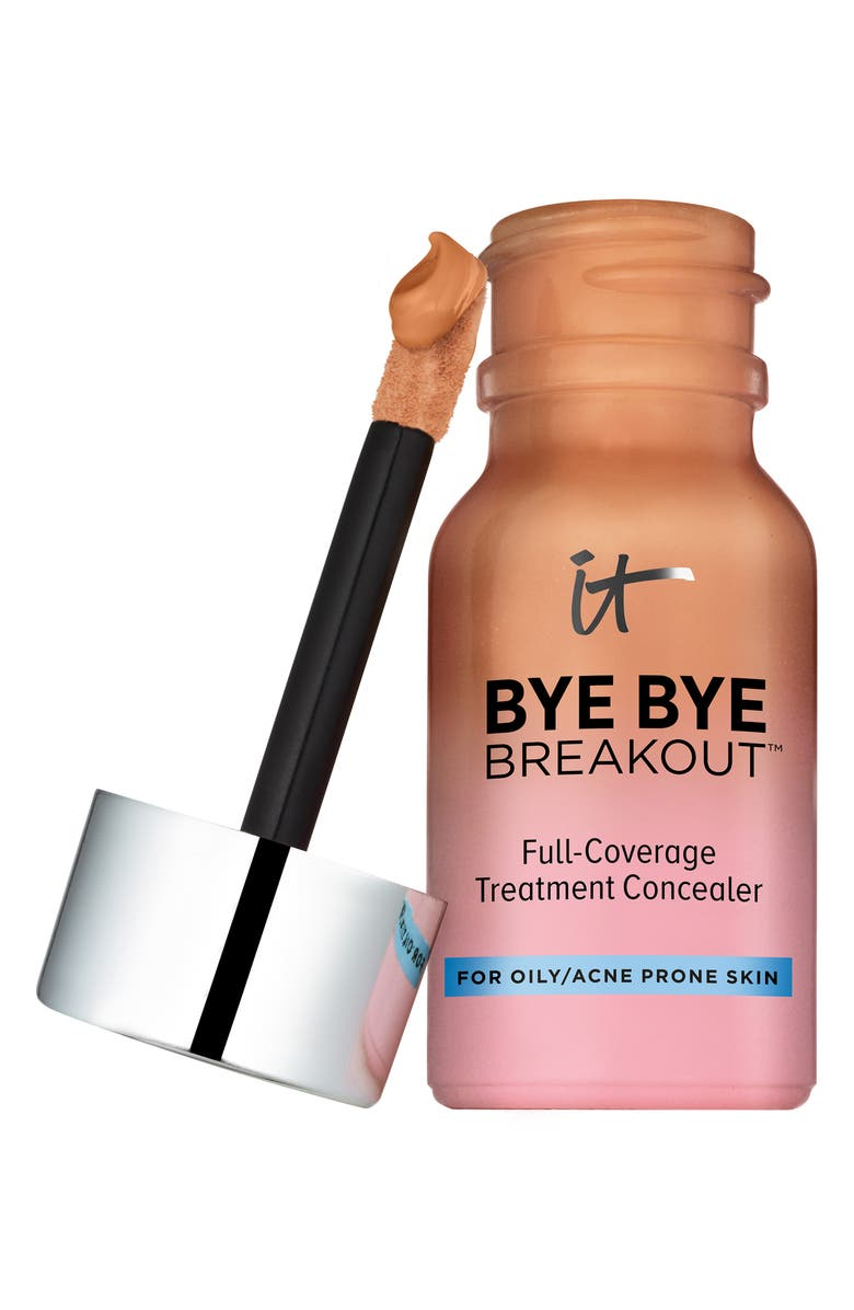 IT COSMETICS Bye Bye Breakout Full-Coverage Concealer, Main, color, 200
