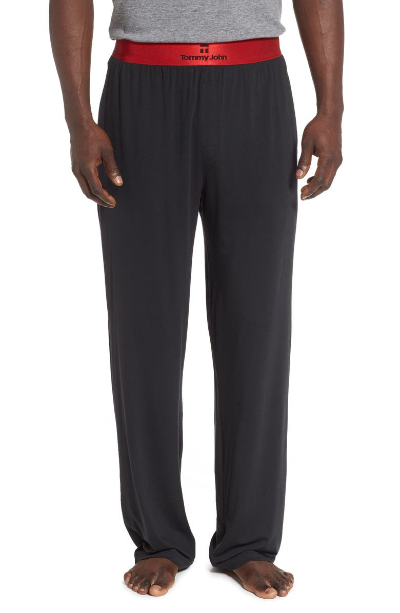 TOMMY JOHN Second Skin Lounge Pants, Main, color, 011