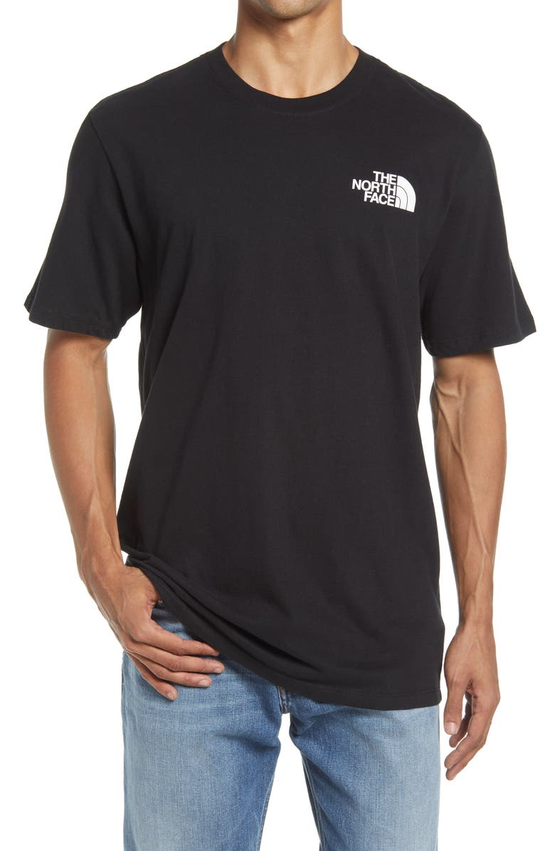 THE NORTH FACE Simple Dome Graphic Tee, Main, color, TNF BLACK