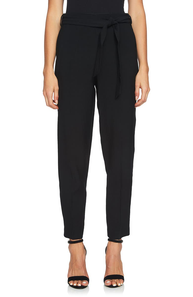 1.STATE Tie Waist Tapered Trousers, Main, color, 006