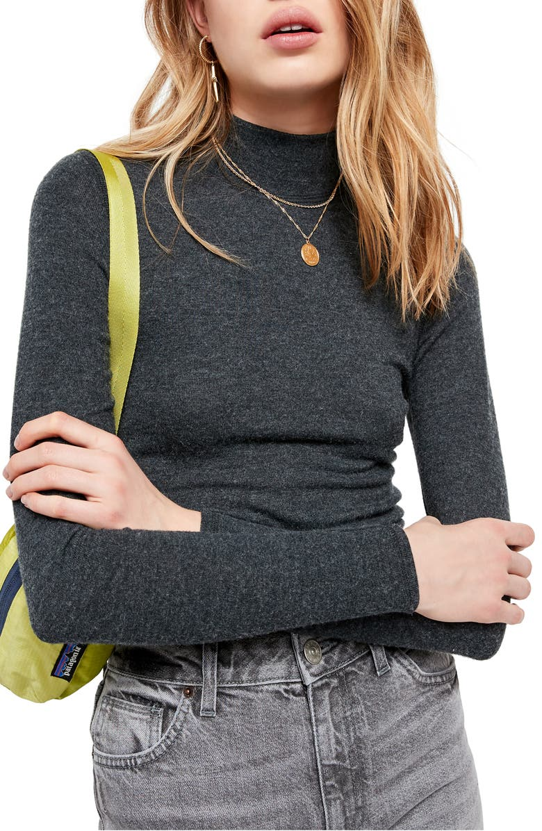BDG URBAN OUTFITTERS Mock Neck Sweater, Main, color, 020