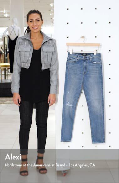 Holly High Waist Ankle Skinny Jeans, sales video thumbnail
