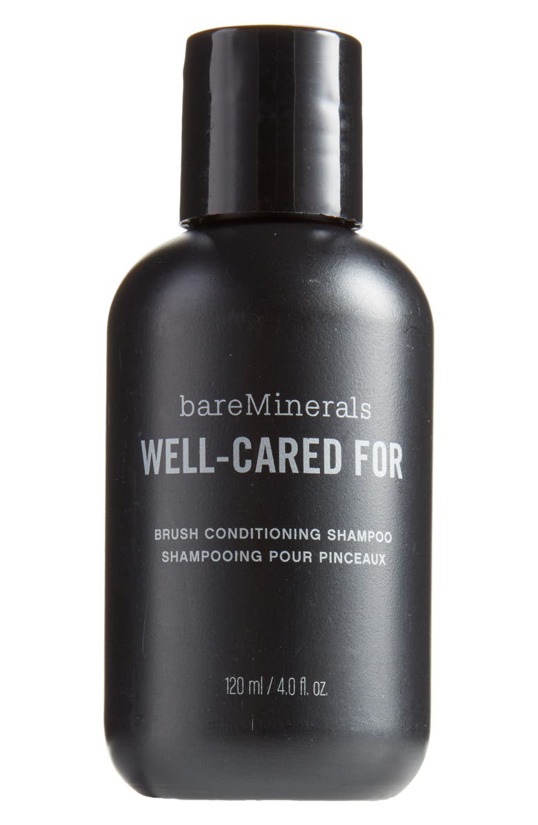 BAREMINERALS<SUP>®</SUP> Well-Cared For Brush Conditioning Shampoo, Main, color, No Color