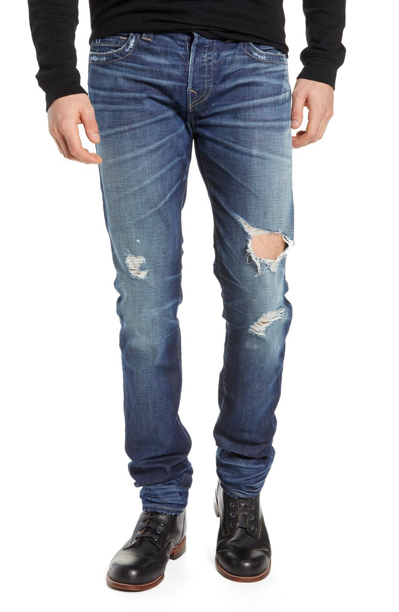 TRUE RELIGION BRAND JEANS Ricky Relaxed Fit Jeans, Main, color, 400