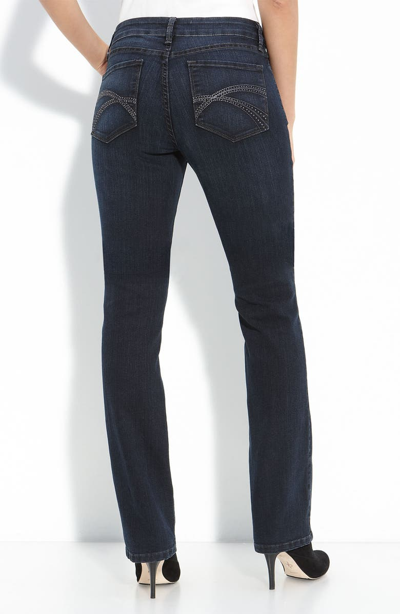 NYDJ Not Your Daughter's Jeans<sup>®</sup> 'Marilyn' Straight Leg Stretch Jeans, Main, color, 400