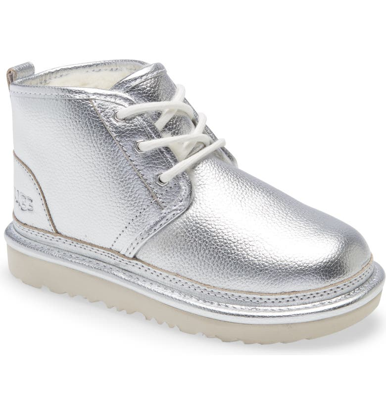 UGG<SUP>®</SUP> Neumel II Waterproof Chukka, Main, color, SILVER METALLIC