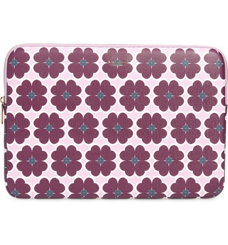 KATE SPADE NEW YORK orchard graphic universal laptop sleeve, Main, color, 500