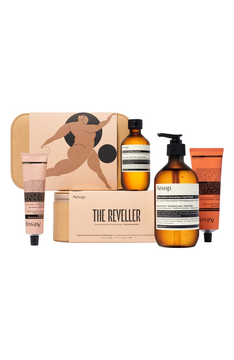AESOP The Reveller Hand & Body Care Set, Main, color, 000