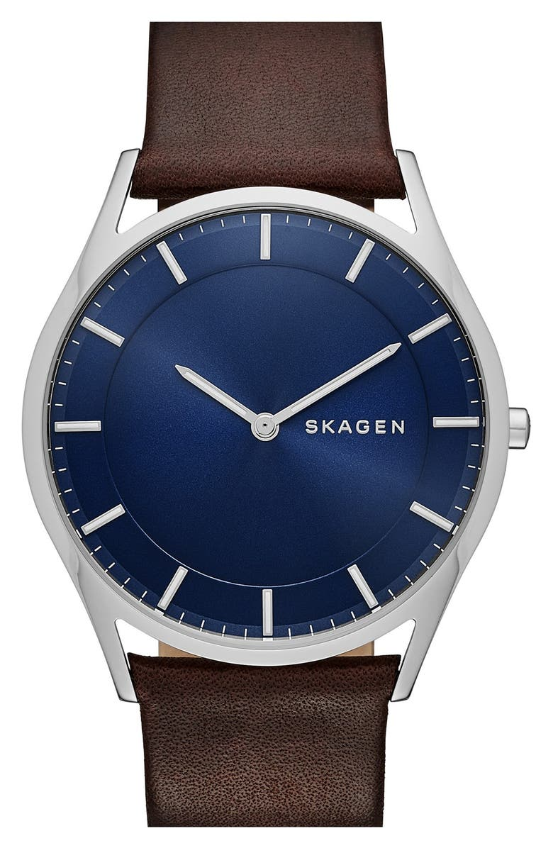 SKAGEN 'Holst' Round Watch, 40mm, Main, color, 200