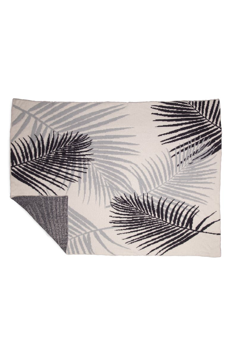 BAREFOOT DREAMS<SUP>®</SUP> CozyChic<sup>™</sup> Palm Leaf Throw Blanket, Main, color, OCEAN MULTI