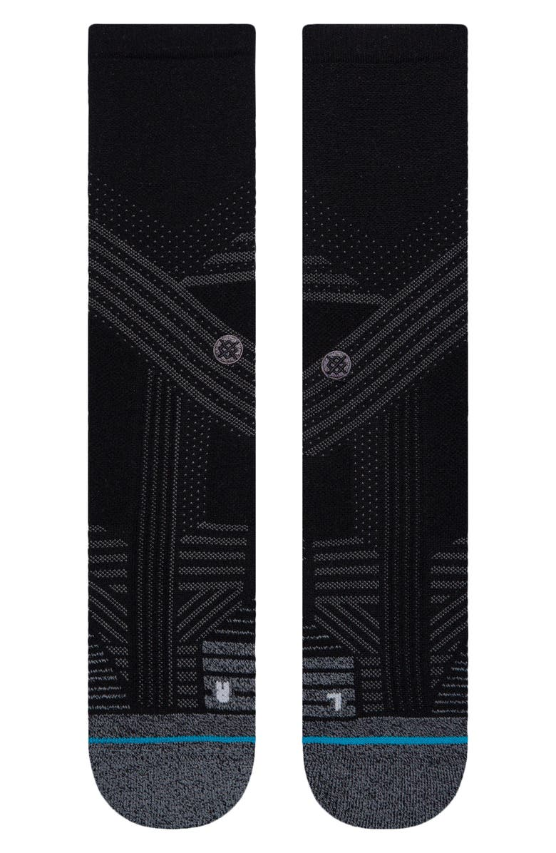 STANCE Athletic Crew Socks, Main, color, 001