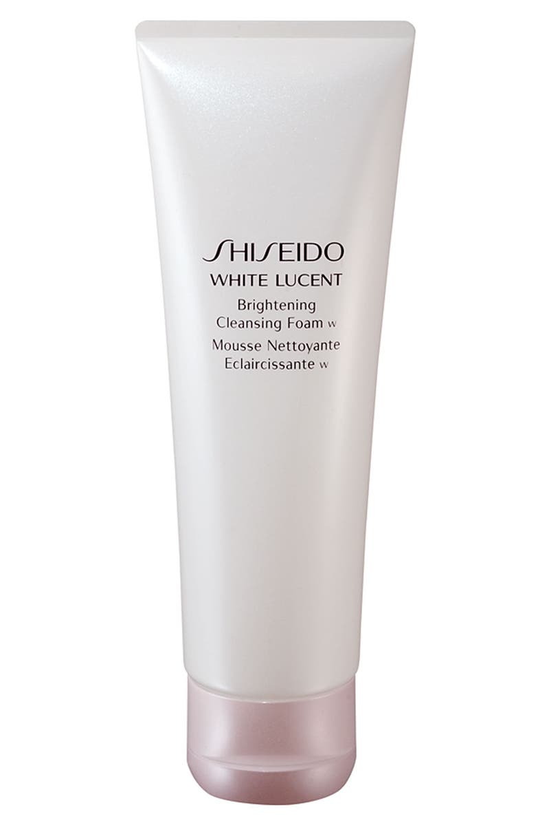 SHISEIDO White Lucent Brightening Cleansing Foam, Main, color, NO COLOR