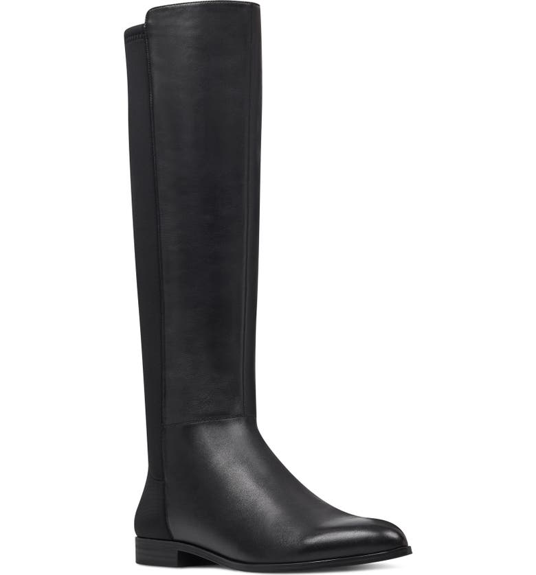 NINE WEST Owenford Knee High Riding Boot, Main, color, 001