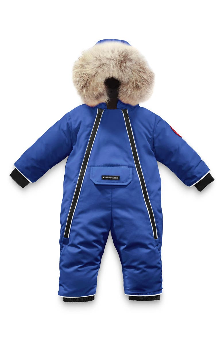 CANADA GOOSE Duck Down Snowsuit with Removable Genuine Coyote Fur Trim, Main, color, 431