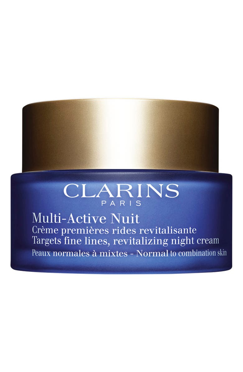 CLARINS Multi-Active Night Cream for Normal to Combination Skin Types, Main, color, NO COLOR