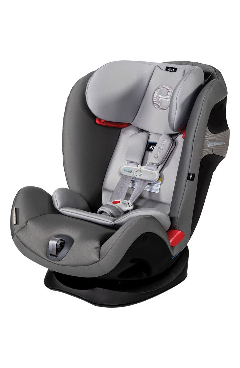 CYBEX Eternis S SensorSafe<sup>™</sup> All-in-One Car Seat, Main, color, MANHATTAN GREY