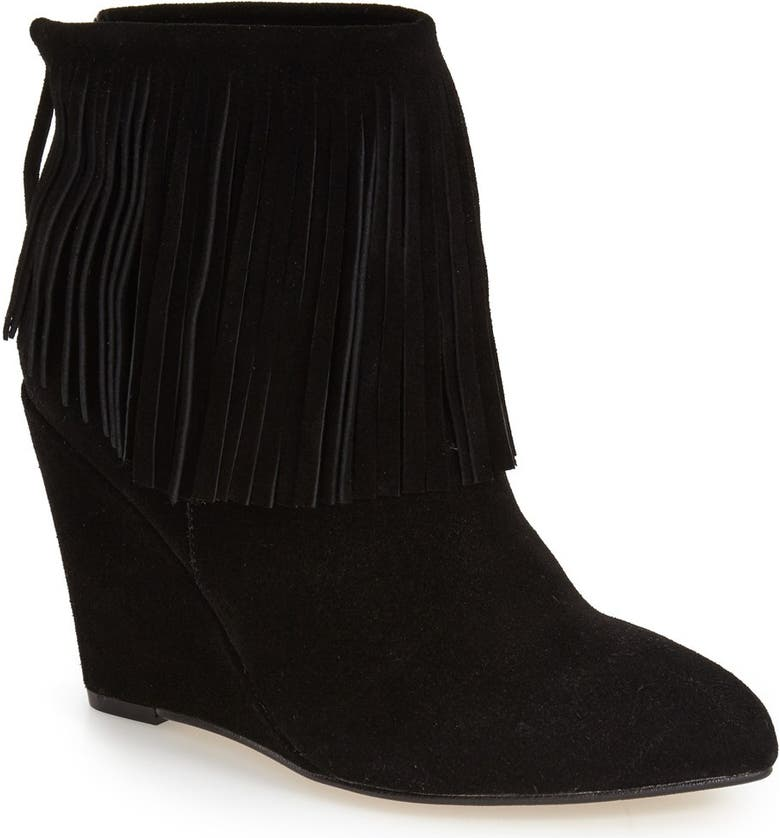 CHINESE LAUNDRY 'Arctic' Wedge Bootie(Women), Main, color, 005