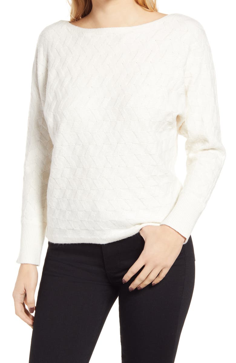 VINCE CAMUTO Dolman Sleeve Sweater, Main, color, 109