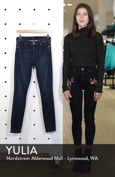 '620' Mid Rise Super Skinny Jeans, sales video thumbnail