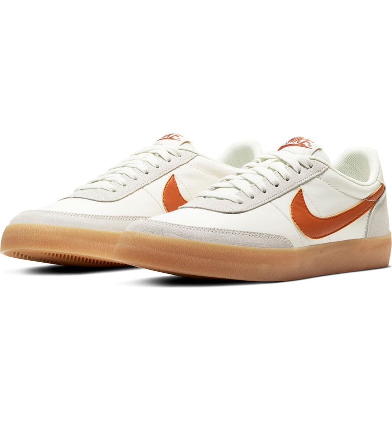 NIKE Killshot 2 Sneaker, Main, color, SAIL/ DESERT ORANGE/ YELLOW
