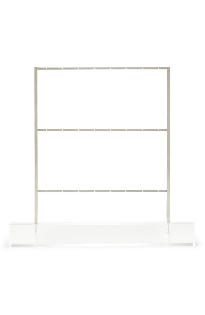KENDRA SCOTT Earring Ladder Jewelry Stand, Main, color, ANTIQUE SILVER