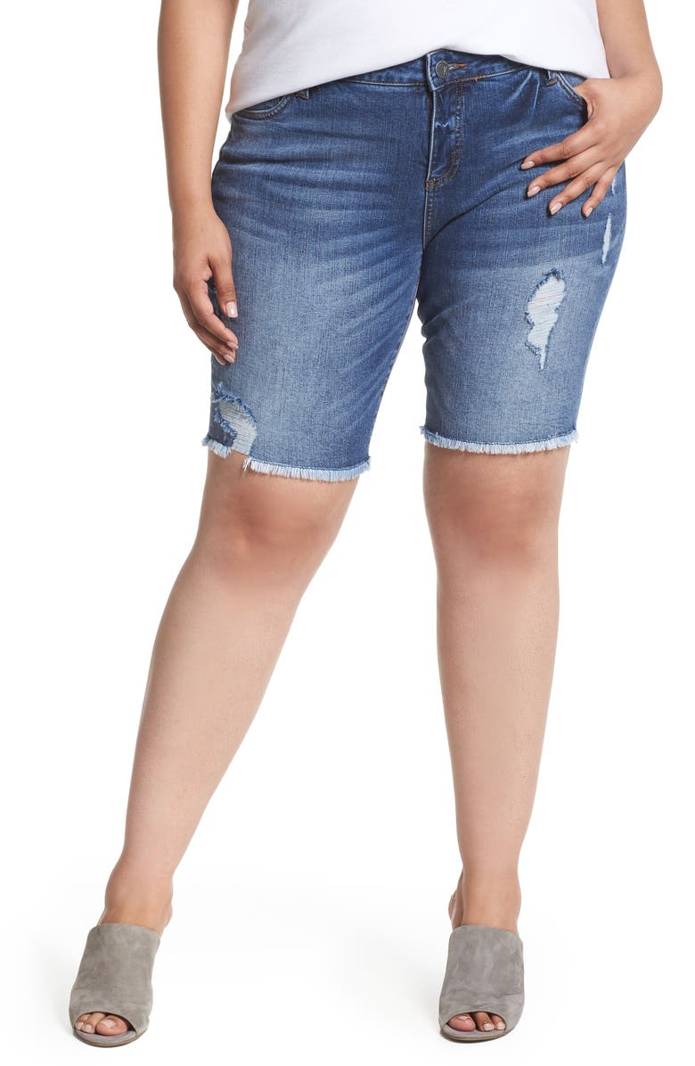 KUT FROM THE KLOTH Sophie Bermuda Shorts, Main, color, 450