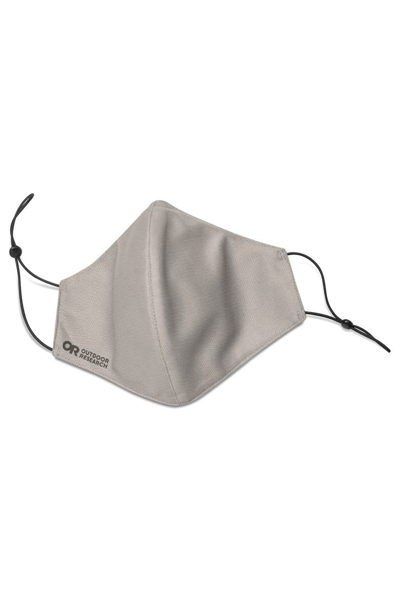 OUTDOOR RESEARCH Essential Adult Face Mask Kit, Main, color, GREY