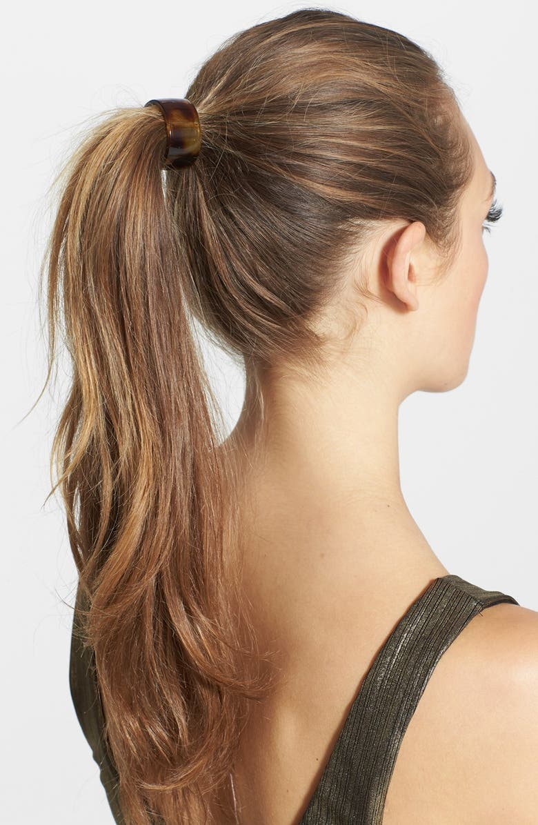 FRANCE LUXE Elodie Cuff Ponytail Holder, Main, color, TOKYO