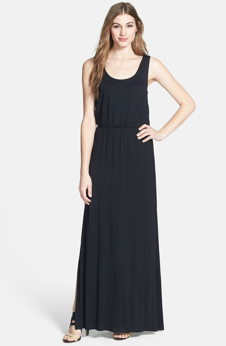 FELICITY & COCO Jersey Tank Maxi Dress, Main, color, 001