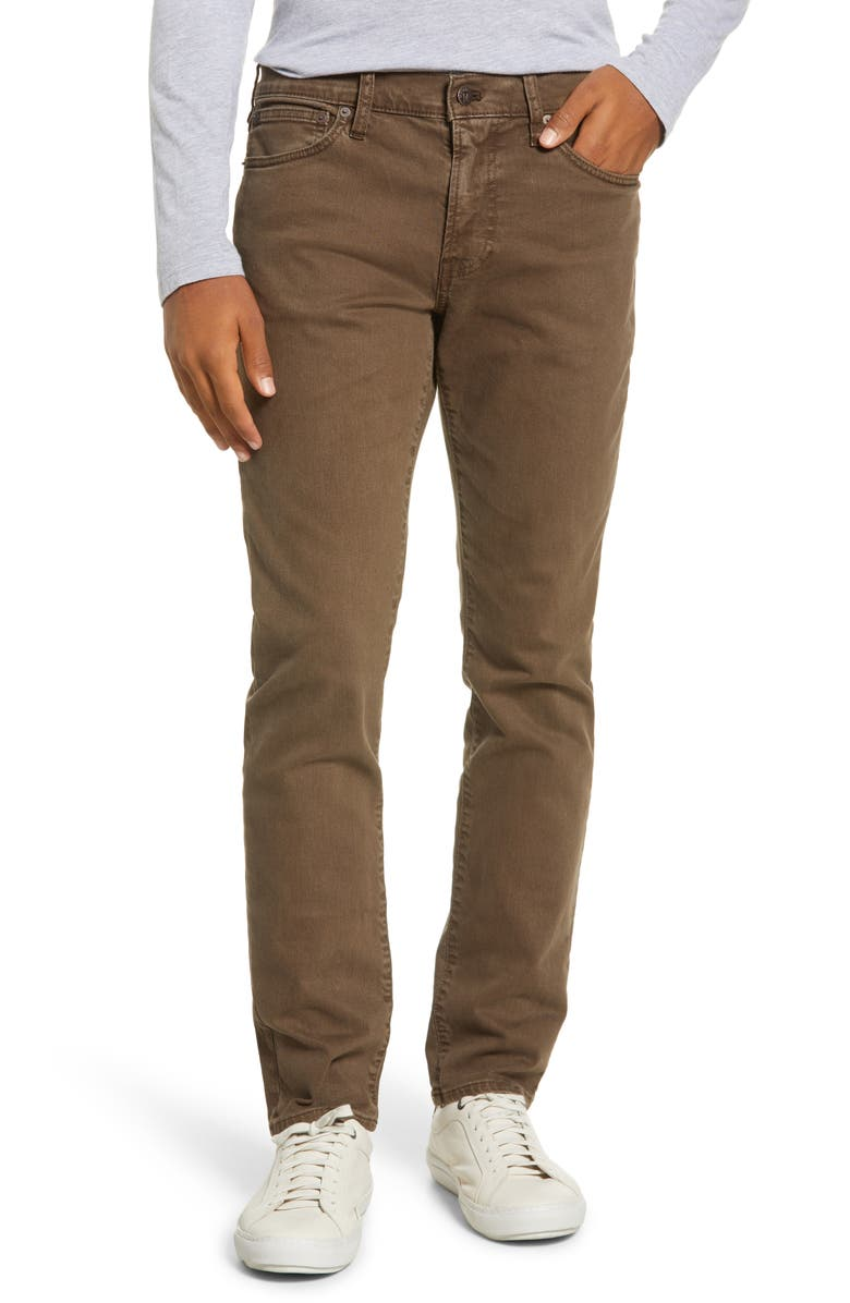 MADEWELL Garment Dyed Slim Jeans, Main, color, 300