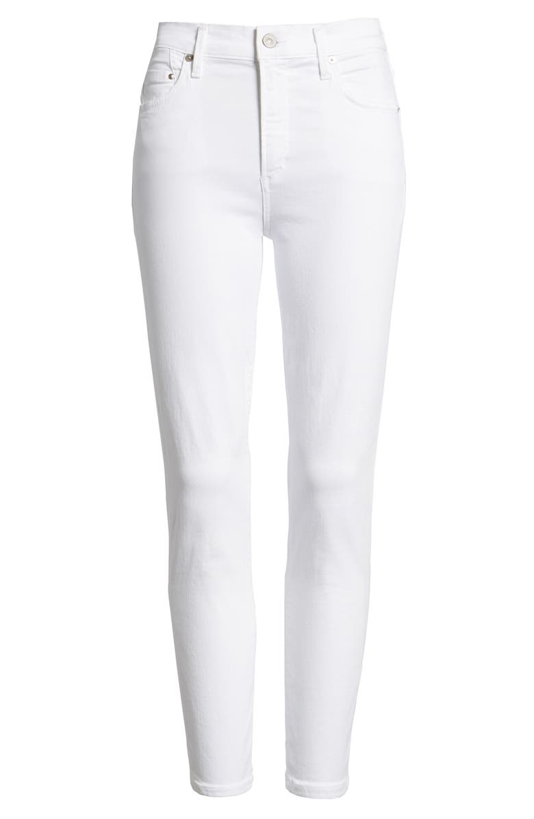 CITIZENS OF HUMANITY Rocket High Waist Crop Skinny Jeans, Main, color, 127
