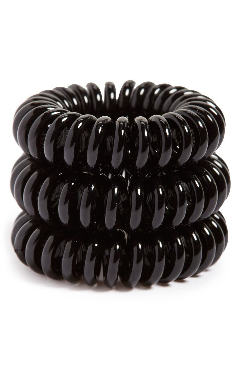 INVISIBOBBLE 'Original' Hair Tie, Main, color, BLACK