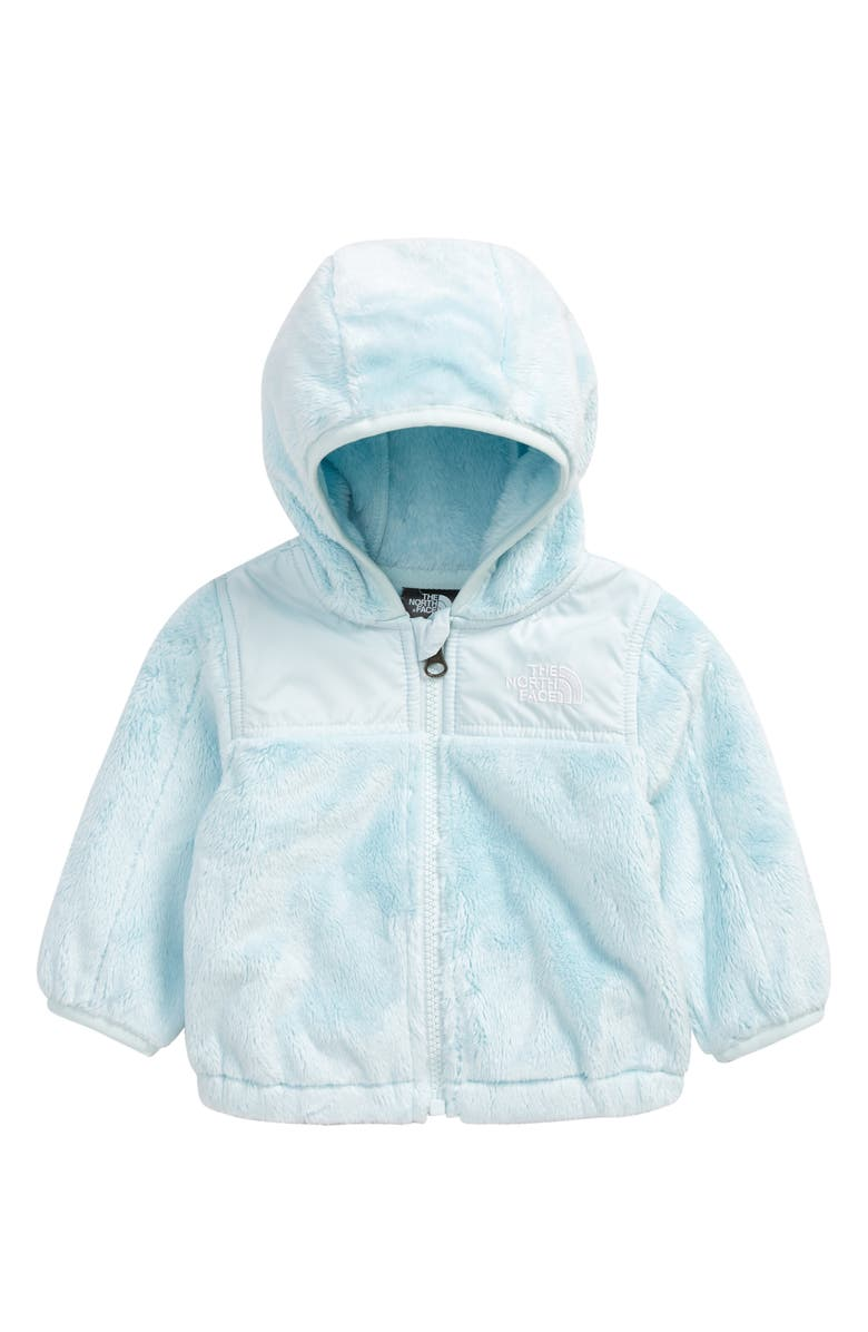 THE NORTH FACE Oso Zip Fleece Hoodie, Main, color, ICE BLUE