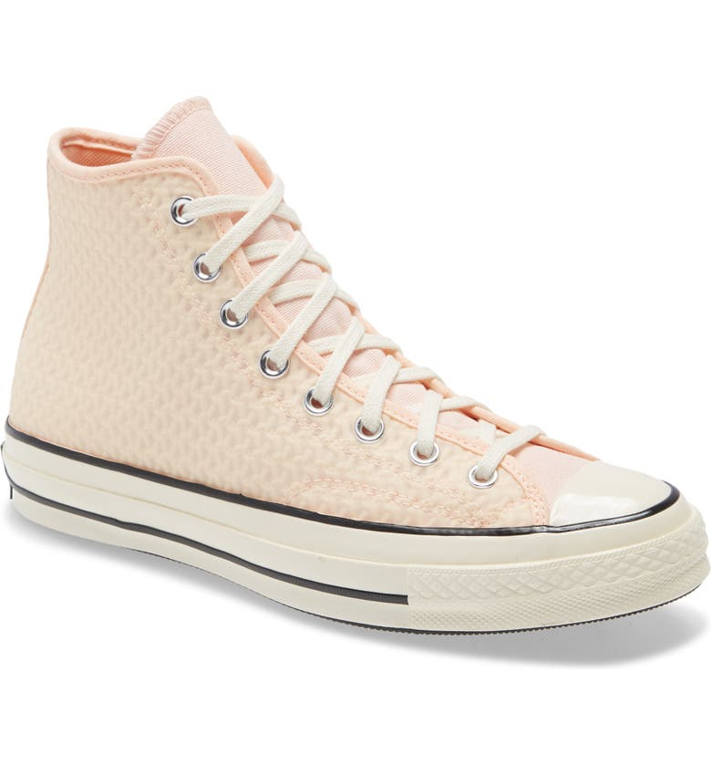 CONVERSE Chuck Taylor<sup>®</sup> All Star<sup>®</sup> 70 High Top Sneaker, Main, color, CRIMSON/ CANTALOUPE/ EGRET