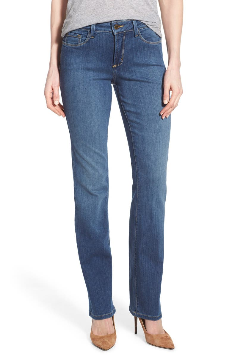 NYDJ 'Marilyn' Stretch Straight Leg Jeans, Main, color, 425