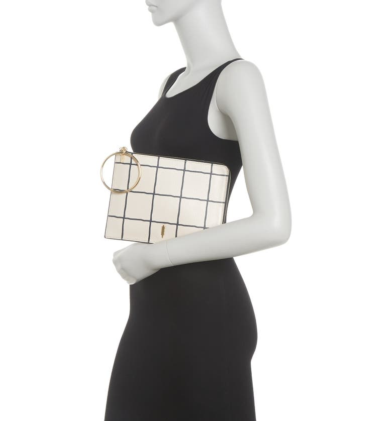 THACKER Gable Ring Travel Pouch, Main, color, WINDOW PANE