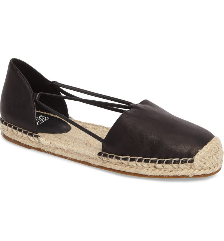 EILEEN FISHER Lee Espadrille Flat, Main, color, 002
