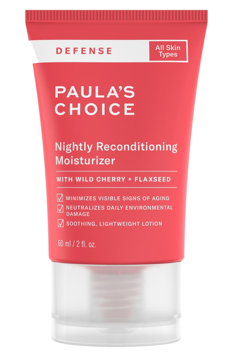 PAULA'S CHOICE Defense Nightly Reconditioning Moisturizer, Main, color, No Color