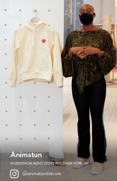 Heart Graphic Hoodie, sales video thumbnail