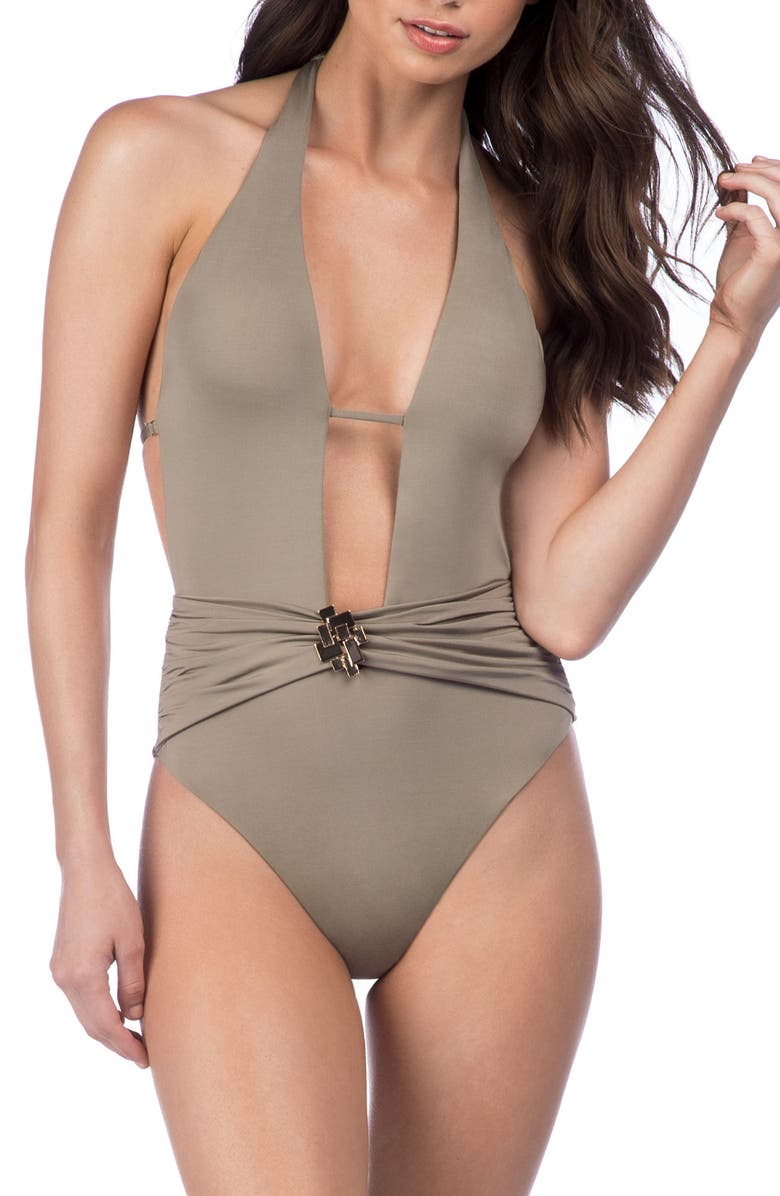 TRINA TURK Studio One-Piece Swimsuit, Main, color, 262